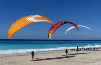 atterrissage de Kathisma beach à Lefkada