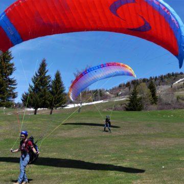 Jeux dans le vent aux Arcs à Bourg Saint Maurice